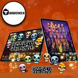 graphismes-effets-sonores-theme-jeu-esqueleto-explosivo