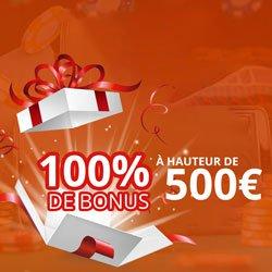 les bonus et promotions disponibles